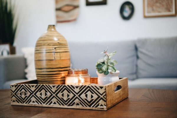 Home decor and house plant